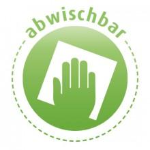 abwischbar
