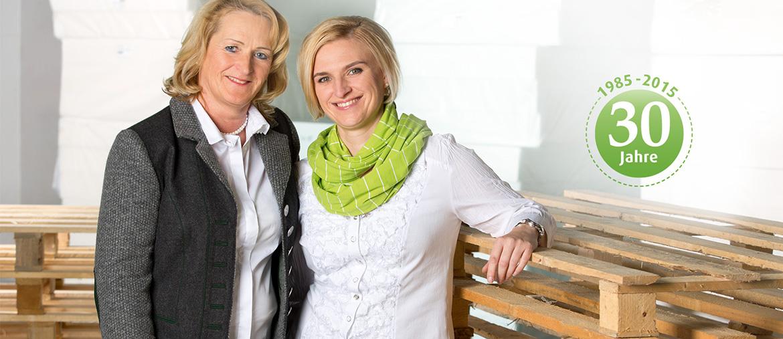 30 Jahre Franke Matratzen - Edeltraud und Melanie Franke
