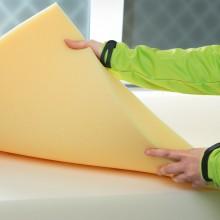 Franke Matratzen benutzt ein besonderes Klebeverfahren bei Schaumstoffen
