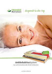 Prospekt Antidekubitus-Schlafsystem - Franke Matratzen