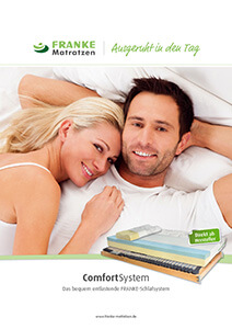 Prospekt Comfort-Schlafsystem - Franke Matratzen