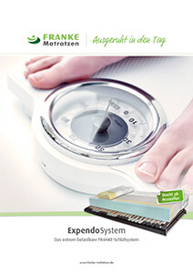 Prospekt Expendo XL/XXL-Schlafsystem - Franke Matratzen