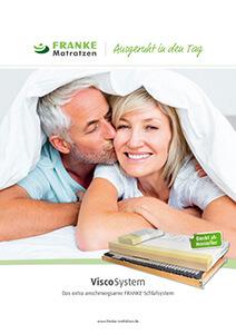 Prospekt Visco-Schlafsystem - Franke Matratzen