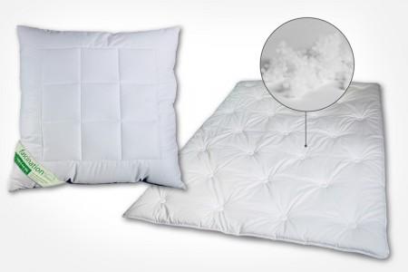 Bettwaren mit TENCEL - Kissen und Bettdecken